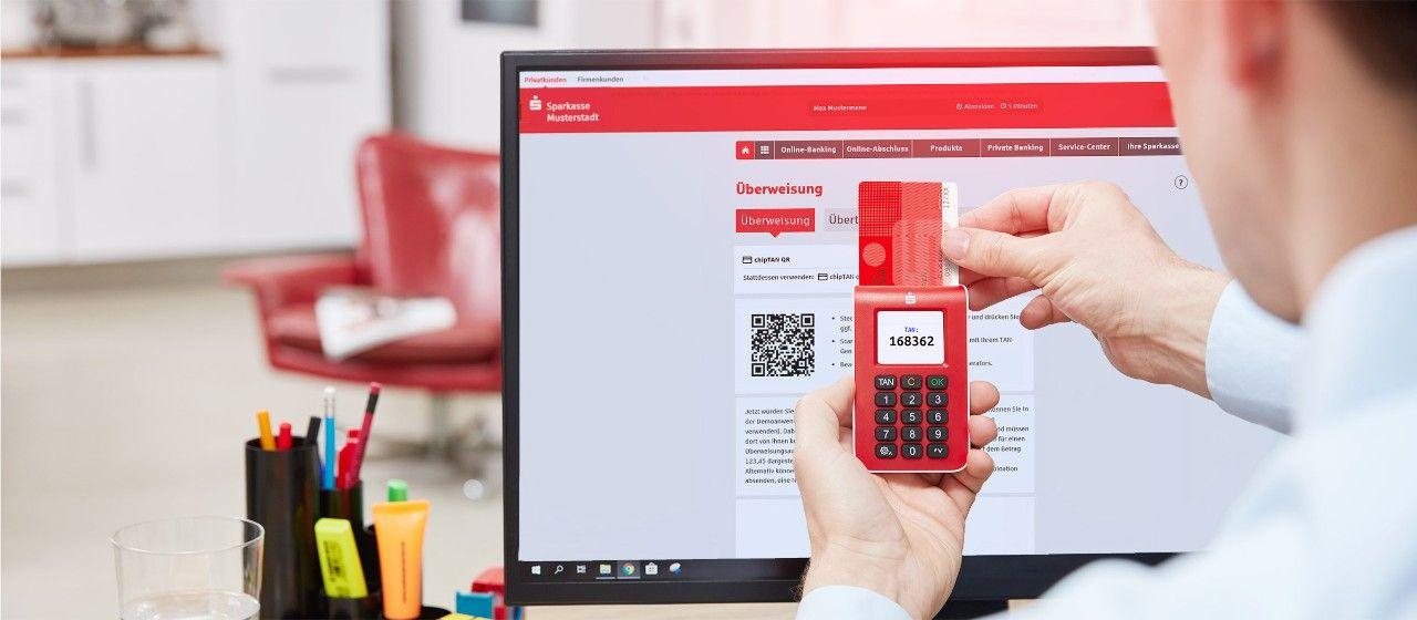 Online Banking Mit Chiptan Sparkasse Darmstadt